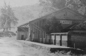 Estação Mogyana na Fazenda Catitó