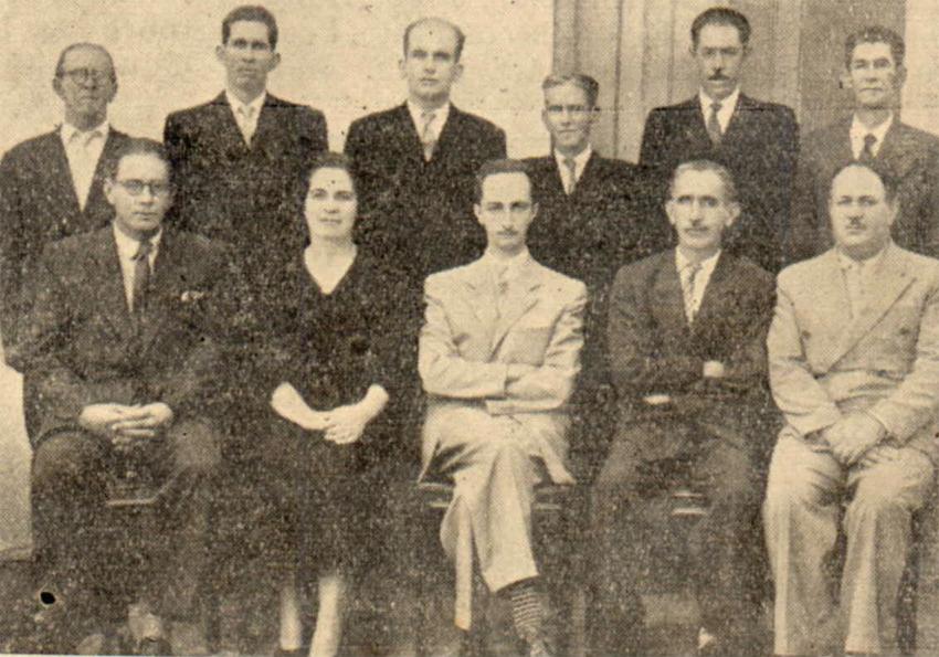 Prefeito Delorenzo Neto e equipe