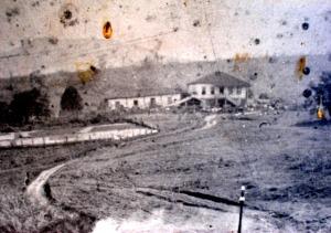 Vista da sede da Fazenda bebedouro em 1918