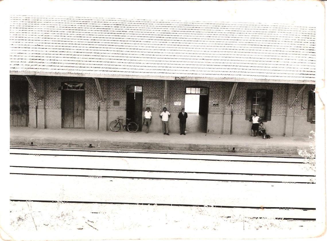 Pessoal na Estação Guaranésia