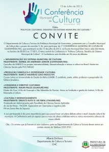 Conferência Municipal de Cultura