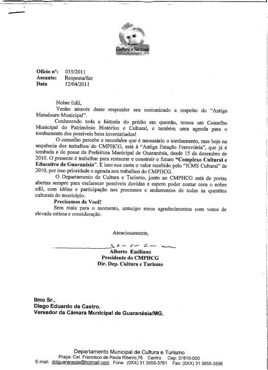 resposta Matadouro