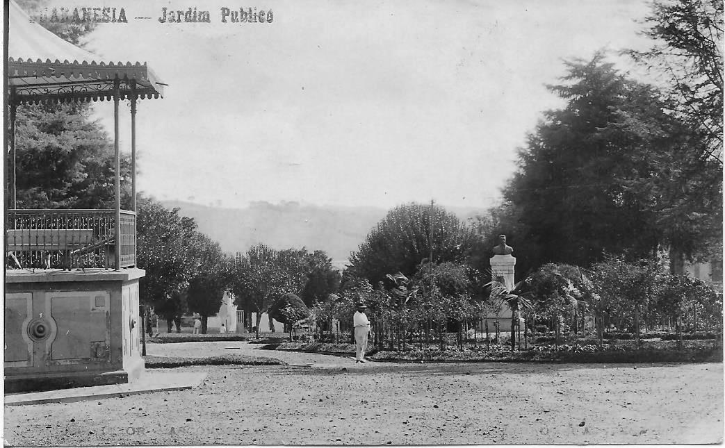 Pça Cel. Fco. de Paula Ribeiro em 1924