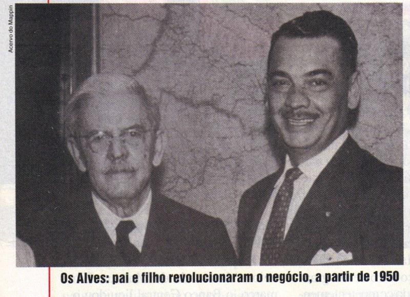 Alberto Alves, pai e filho