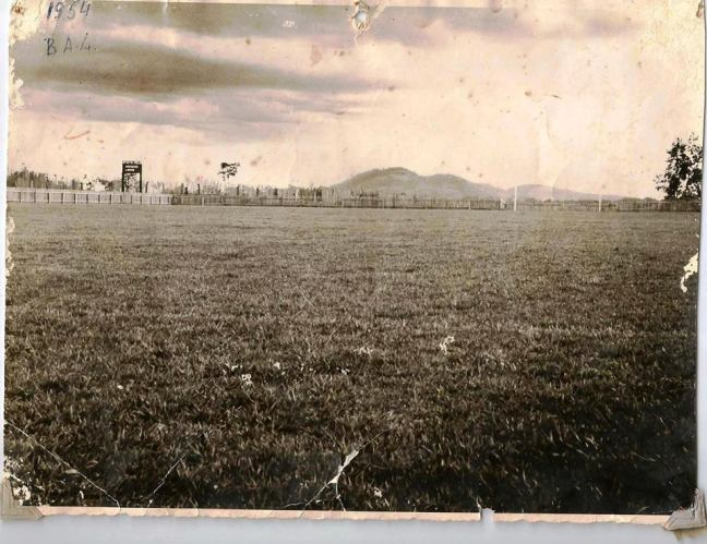 antigo campo do GFC