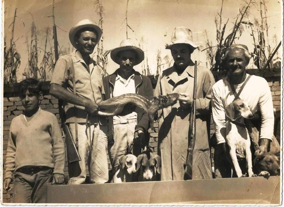caçadores abraao isaac