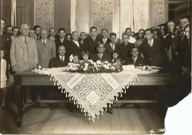 posse dr silvio goncalves 1935